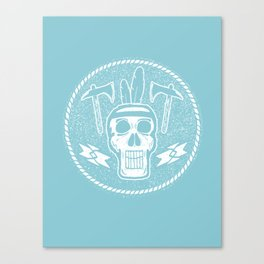 Indian Skull Canvas Print