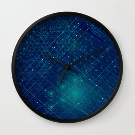 Cosmic Geometry Wall Clock