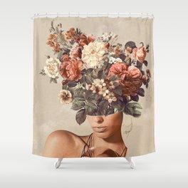 Flower-ism II Shower Curtain