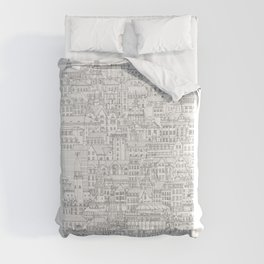Copenhagen, København, Denmark Comforters
