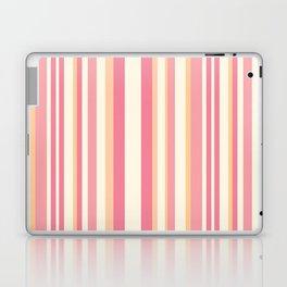 Pink Stripes Laptop & iPad Skin