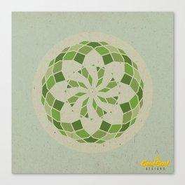 Heart Chakra Mandala Canvas Print