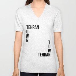 Tehran Town Unisex V-Neck