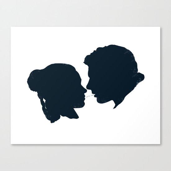 I Love You, I Know Canvas Print