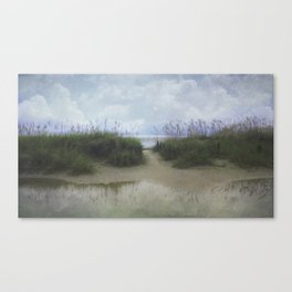Morning at Tybee Canvas Print