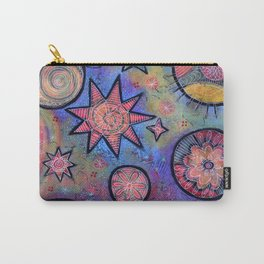 Celestial Stars - Sending Love and Healing Light  Carry-All Pouch