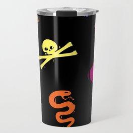 Bully Print Rainbow Travel Mug
