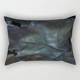 Leaves of Blue Rectangular Pillow