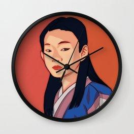 Side-look Wall Clock