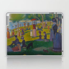 A Sunday Afternoon on the Island of La Grande Jatte Painting by Georges Seurat Pointillism Laptop & iPad Skin