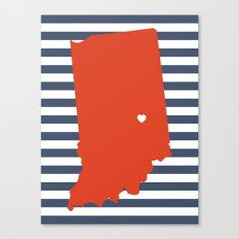 Indianapolis, Indiana Canvas Print