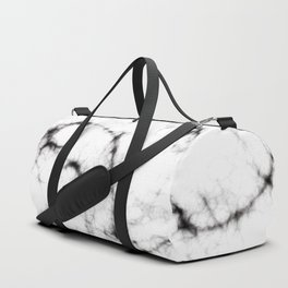 White marble Duffle Bag