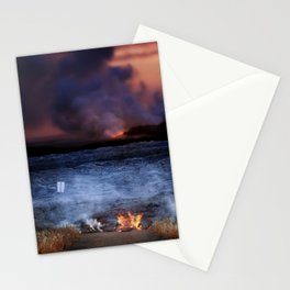 Kilauea Volcano Lava Flow. Stationery Cards