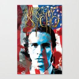 "American Psycho ""The Fury of Patrick Bateman"" Canvas Print"