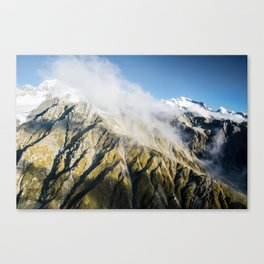 The Southern Alps of New Zealand Canvas Print