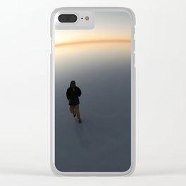 Salar De Uyuni Sunrise 4 Clear iPhone Case