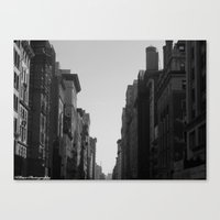 broadway Canvas Prints featuring Broadway by Loved and Lost