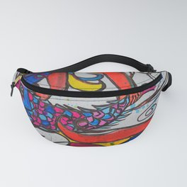 Jumping Fish  #Society6   #decor #buyart Fanny Pack