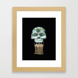 Royal Skull Candy Framed Art Print