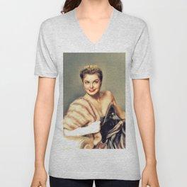 Esther Williams, Vintage Actress Unisex V-Neck