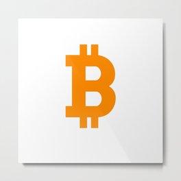 Bitcoin basic Metal Print