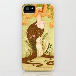 Flower shade iPhone Case