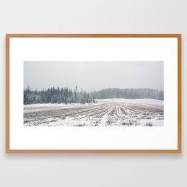 It´s snowing Framed Art Print