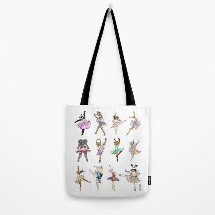 Animal Ballet Hipsters LV Tote Bag