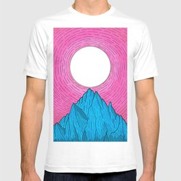 The new moon over the mountain T-shirt