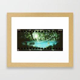 Horizontal Split (1) Framed Art Print