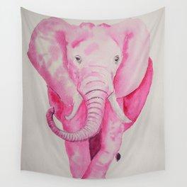 Fuchsia Elephant Wall Tapestry