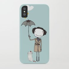 Rainy Day iPhone X Slim Case