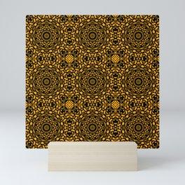 Busy pattern Mini Art Print
