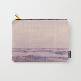 Ocean and sky Pink Carry-All Pouch