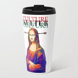 Mona Lisa, Retro, Pop Travel Mug