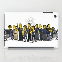 sons of anarchy iPad Cases featuring Sons Of Anarchy cast by Adrien ADN Noterdaem