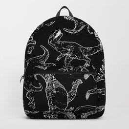 Dinosaures in B&W Backpack