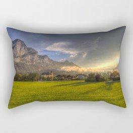 Saint Lorenz Austria Sunset Rectangular Pillow
