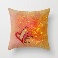 Kristin's Valentine Throw Pillow