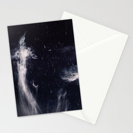 Falling stars II Stationery Cards