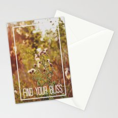 find your bliss. Stationery Cards