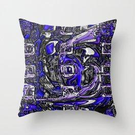 plastic wax factory 16 - Father Dagon Throw Pillow