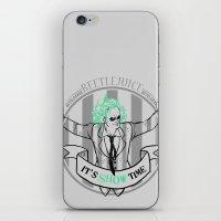tim burton iPhone & iPod Skins featuring Beetle Juice [Betelgeuse, Michael Keaton, Tim Burton] by Vyles