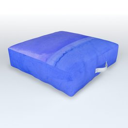 Blue City of Chefchaouen in Morocco Outdoor Floor Cushion