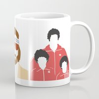 the royal tenenbaums Mugs featuring The Royal Tenenbaums by Qc Illustrations