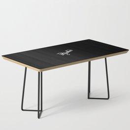Partysahne   [black & white] Coffee Table