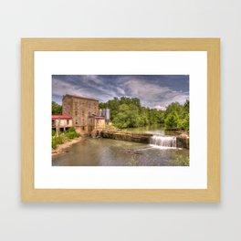Weisenberger Mill Kentucky Framed Art Print