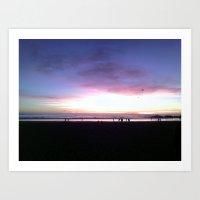 Venice Sunset #1 Art Print