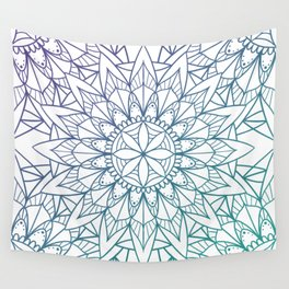 Sunflower Spring Wall Tapestry