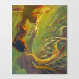 Water Nymphs Canvas Print